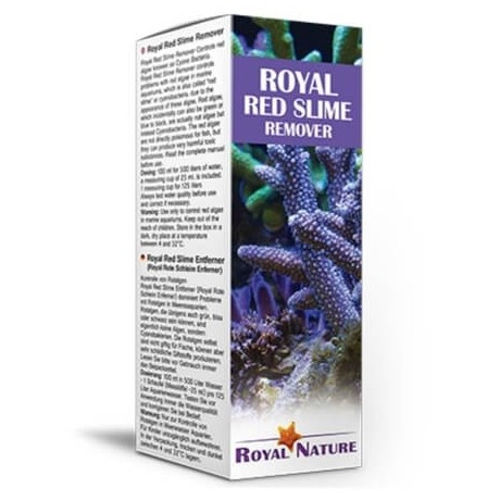 Royal Red Slime Remover Elimina alga roja Royal Nature
